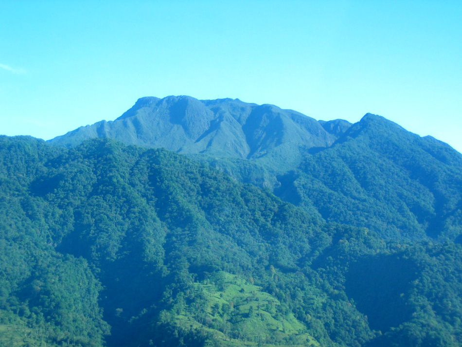 Volcan Baru, with rainforest.